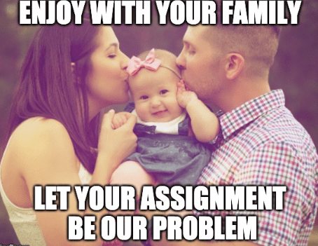 With Elite Dissertation consulting, we ensure that a quality time with your family is not compromised