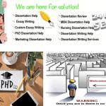 Ph.D. Dissertation Writing Services